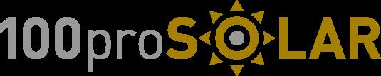 100proSOLAR Logo